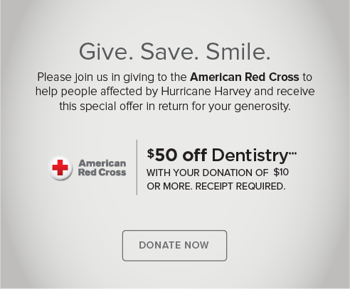Cherry Creek Modern Dentistry - Donate Red Cross® Hurricane Harvey